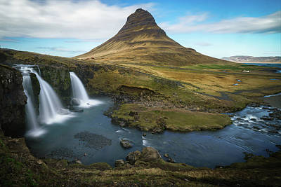 Photograph - Kirkjufell Waterfall by James Udall