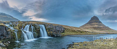 Photograph - Kirkjufell Waterfall by Jerry Fornarotto