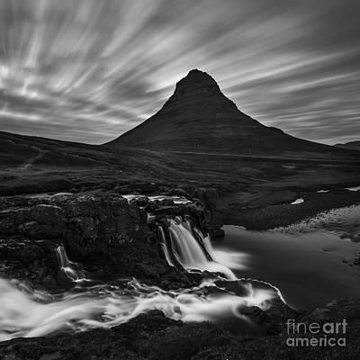 Photograph - Kirkjufellsfoss Snaefellsnesi by Gunnar Orn Arnason