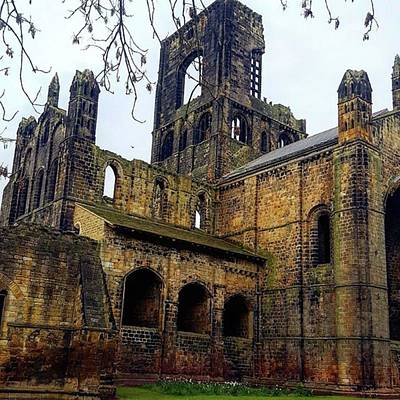 Photograph - #kirkstallabbey #leeds How's Your Bank by Dante Harker
