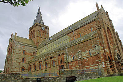 Photograph - Kirkwall Cathedral by Tony Murtagh