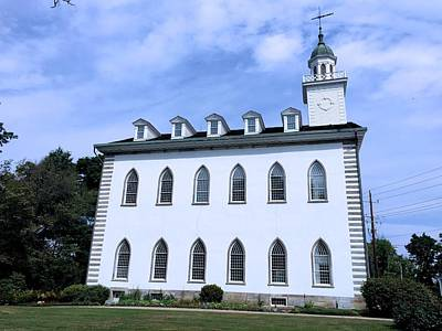 Photograph - Kirtland Temple by Eric Tressler