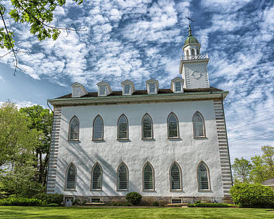 Kirtland Temple Art Print by Stephen Stookey