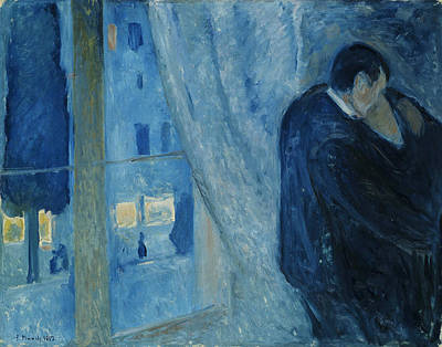 The Kiss Painting - Kiss By The Window by Mountain Dreams