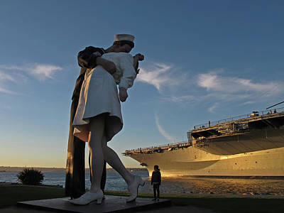 Photograph - Kiss In San Diego - 365-198 by Inge Riis McDonald