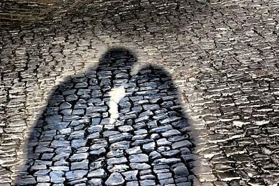 Photograph - Kiss Me On The Cobblestone by Dora Hathazi Mendes