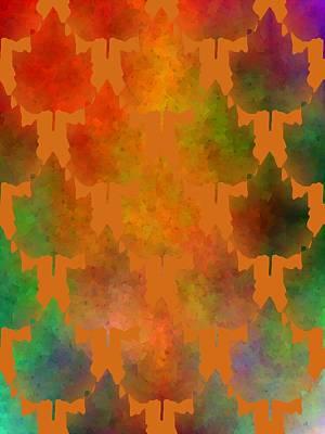 Kiss Of Autumn Art Print