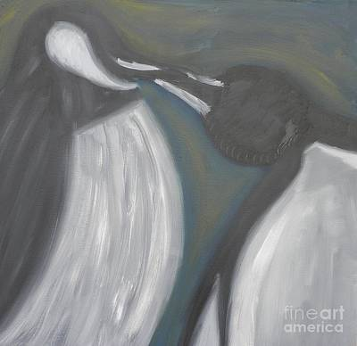 Painting - Kiss Of Dawm by Kristen Diefenbach
