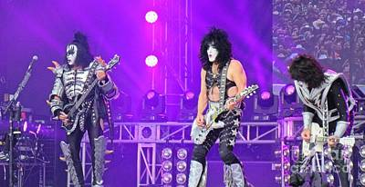 40th Anniversary Photograph - Kiss On Stage 40th Anniversary Tour by John Malone