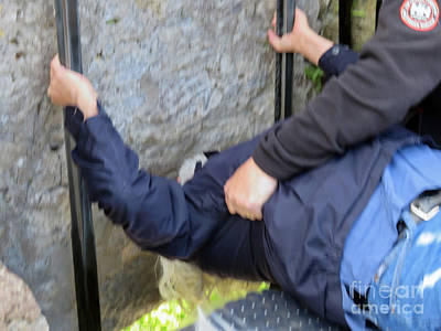 Photograph - Kiss The Blarney Stone by Cindy Murphy - NightVisions