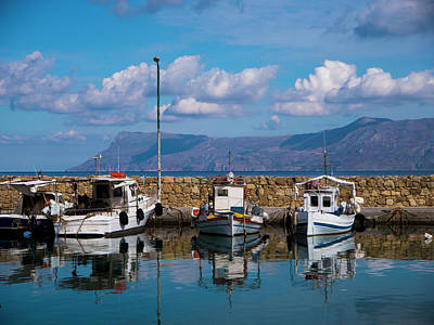 Photograph - Kissamos Fishing Port by Rae Tucker