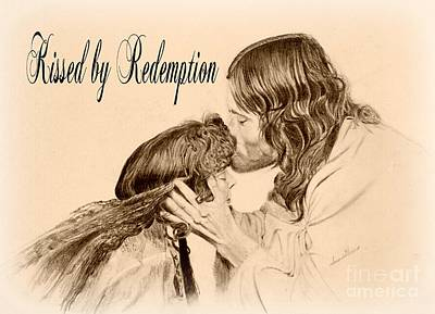 Digital Art - Kissed By Redemption  by Susan Harris
