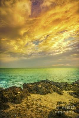 Photograph - Kissed By Sunrise On Hutchinson Island by Olga Hamilton