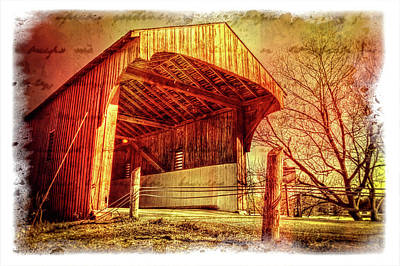 Photograph - Kissing Bridge by Garvin Hunter