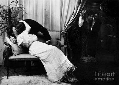 The Kiss Photograph - Kissing, C1900 by Granger
