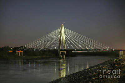 Photograph - Kit Bond Bridge by Lynn Sprowl