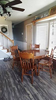 Photograph - Kitchen 3 - Flooring And Table by Greg Jackson