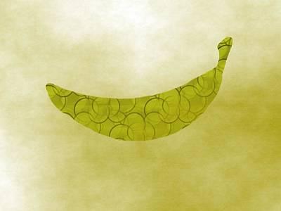 Kitchen Banana Art Print