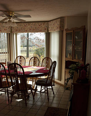Photograph - Kitchen Before Thanksgiving by Wilma  Birdwell