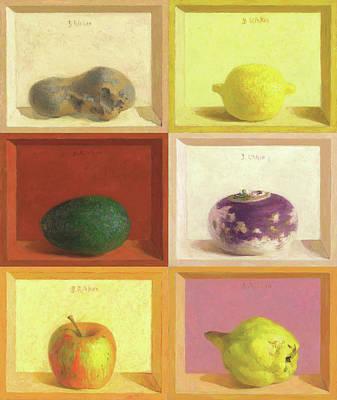 Painting - Kitchen by Ben Rikken