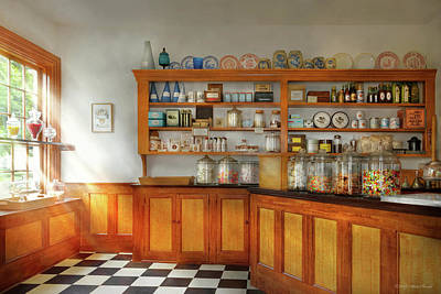 Photograph - Kitchen - Candy - The Candy Store by Mike Savad