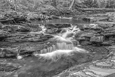 Photograph - Kitchen Creek Bw - 8902-3 by G L Sarti