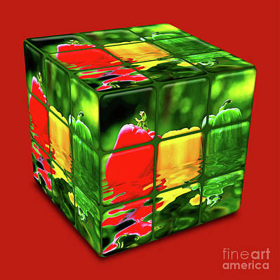 Photograph - Kitchen Cube By Kaye Menner by Kaye Menner