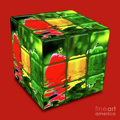 Photograph - Kitchen Cube By Kaye Menner by Kaye Menner