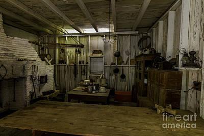 Photograph - Kitchen House by Ken Frischkorn