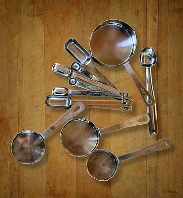 Photograph - Kitchen Measures by Joe Bonita