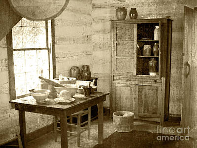 Photograph - Kitchen by Pete Hellmann