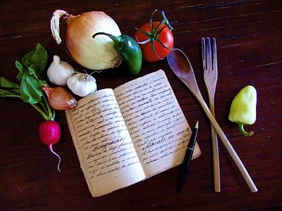 Cookbooks Digital Art - Kitchen Still Life by Barbara Zahno