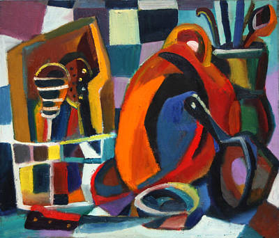 Painting - Kitchen Still Life by Vladimir Kozma