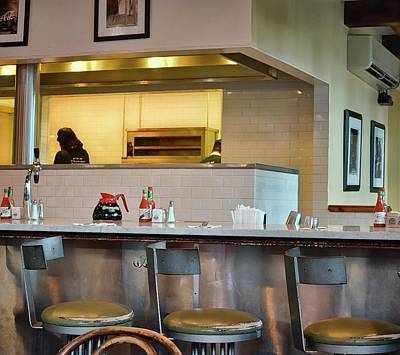 Photograph - Kitchen View From A Table - French Quarter - New Orleans 1b by Greg Jackson