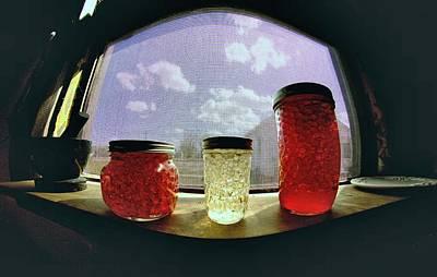 Digital Art - Kitchen Window Curves by Aliceann Carlton