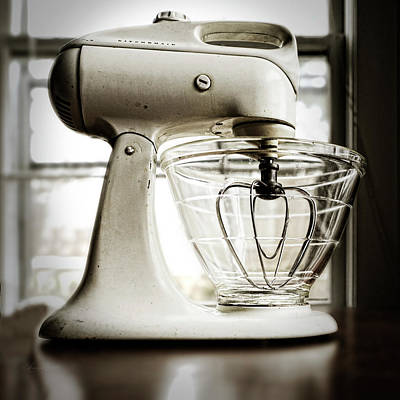 Photograph - Kitchenaid Nostalgia by Sharon Popek