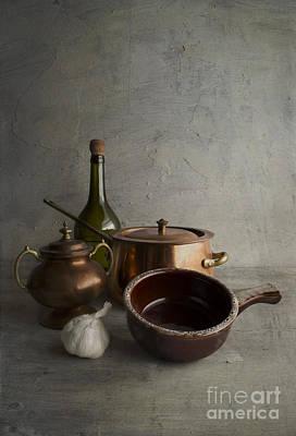 Photograph - Kitchenware by Elena Nosyreva