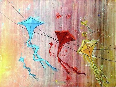 Kite Festival Paintings Fine Art America