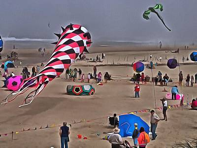 Photograph - Kite Fun by Thom Zehrfeld