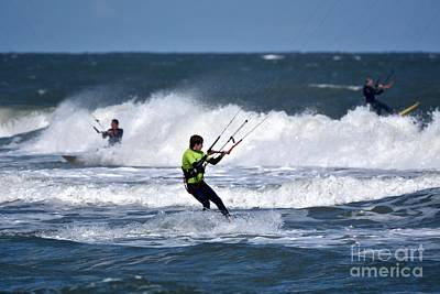 Music Figurative Potraits - Kite surfing by JL Images