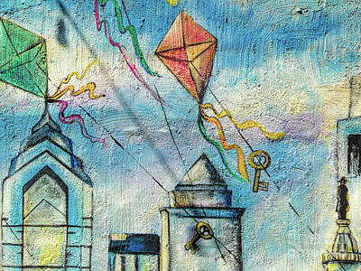 Photograph - Kites And Keys by Todd Breitling