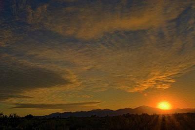 Photograph - Kitt Peak Sunset Op04 by Mark Myhaver