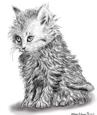 Kitten #1 Art Print