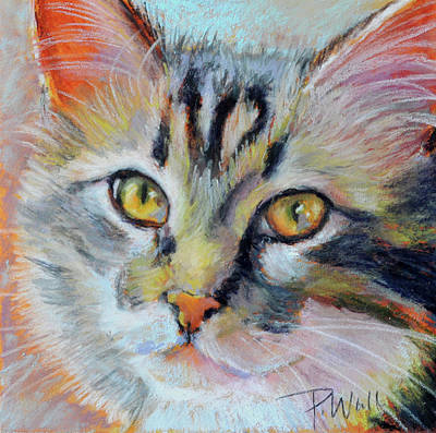 Pastel - Kitters II by Pattie Wall