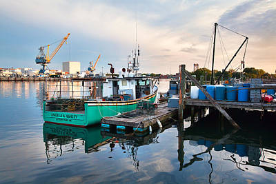 Kittery Foreside Art Print by Eric Gendron