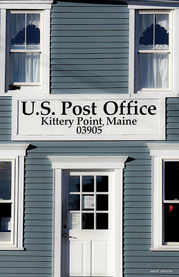Photograph - Kittery Point Post Office by Mark Alesse