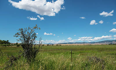 Photograph - Kittitas County Ranchland by Tom Cochran