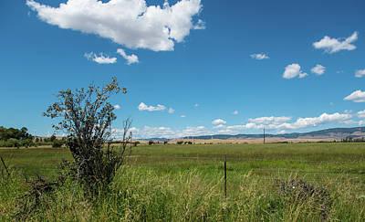 Photograph - Kittitas County Ranchland by Tom Cochran
