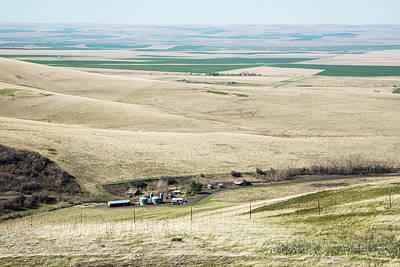 Photograph - Kittitas Valley Checkerboard by Tom Cochran