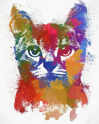 Painting - Kitty by Dan Sproul